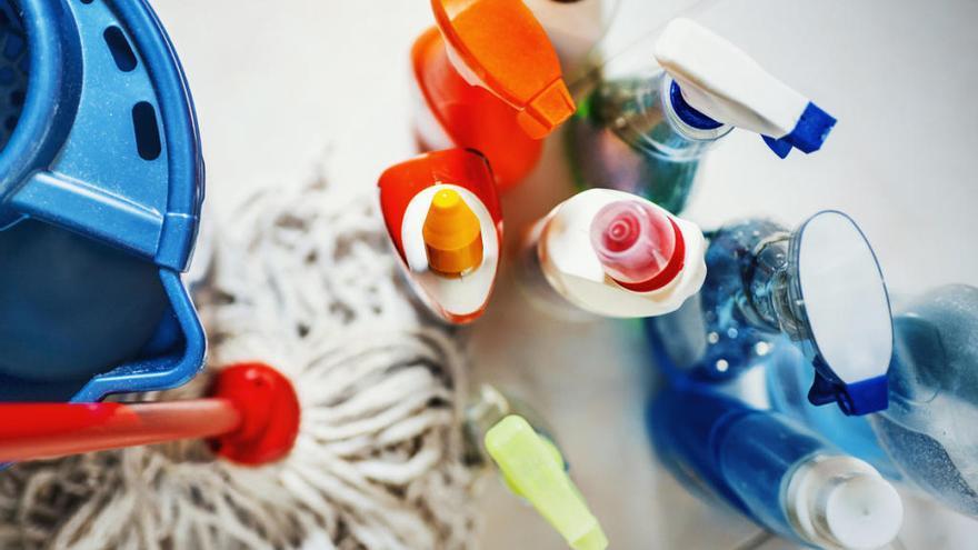 Productos de limpieza que no debes mezclar
