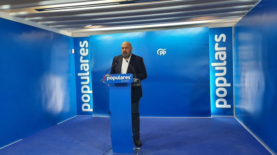 El presidente del PP de Palma llama a la unidad para la renovación de las juntas de distrito
