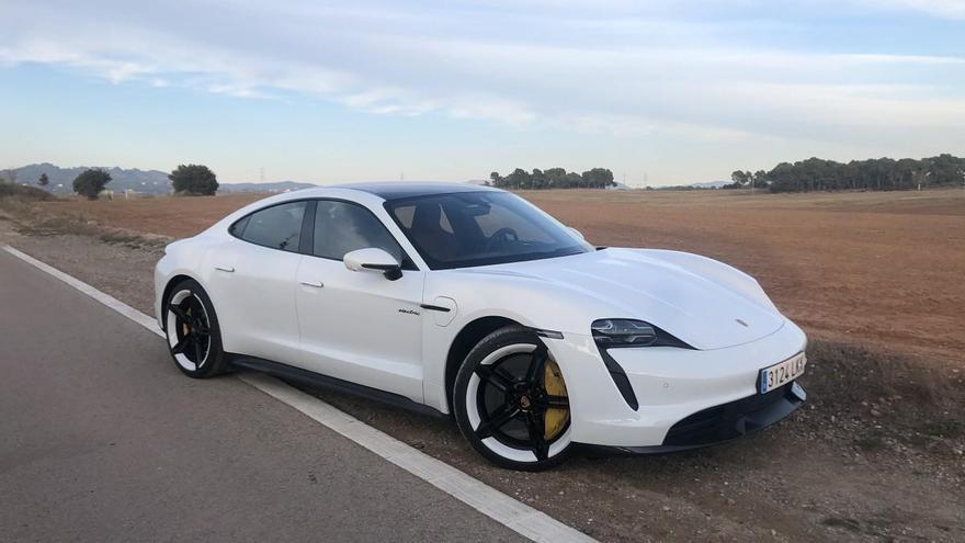 Prueba del Porsche Taycan Turbo S, el futuro ha llegado