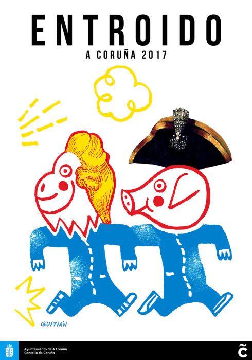 Carteles del Carnaval de A Coruña 2017