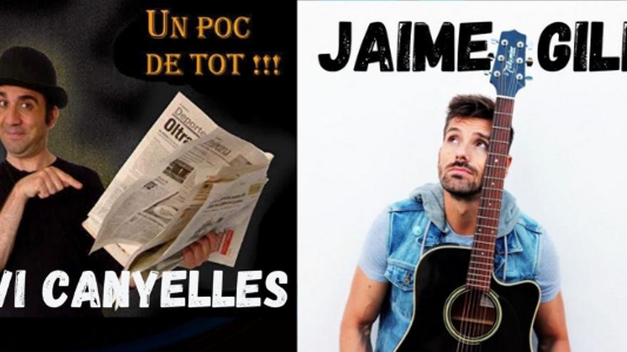 Nit d'Humor amb Jaime Gili i Xavi Canyelles
