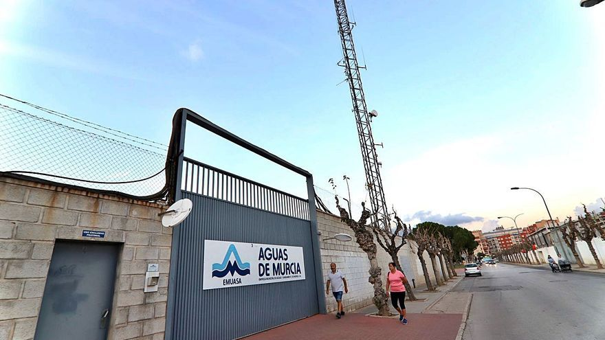Aguas de Murcia se prepara para abandonar en 2024 la antigua estación de tren