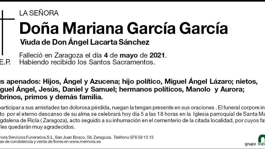 Mariana García García