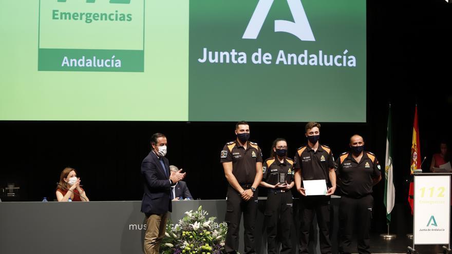 Gala del XX Aniversario del Servicio de Emergencias 112 en Andalucía