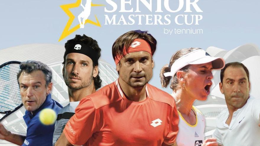 Cuenta atrás: 15 días para el primer saque del torneo de leyendas del tenis en Valencia