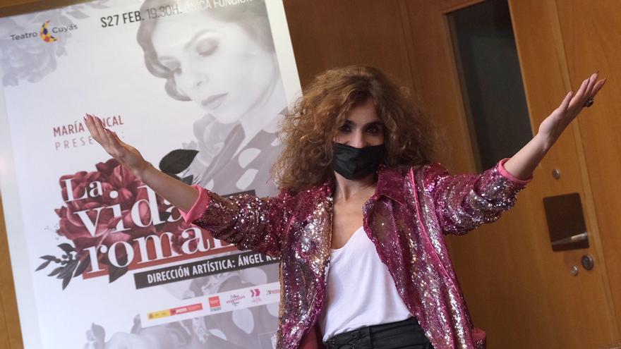 María Juncal se reencuentra en el Cuyás