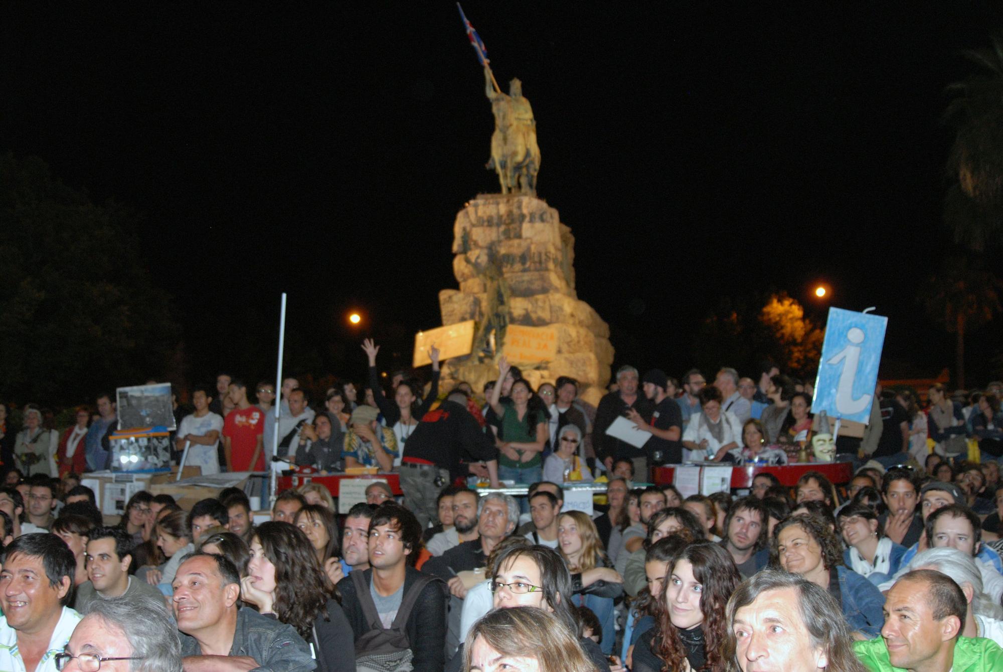 Las imágenes que dejó el 15M en Palma