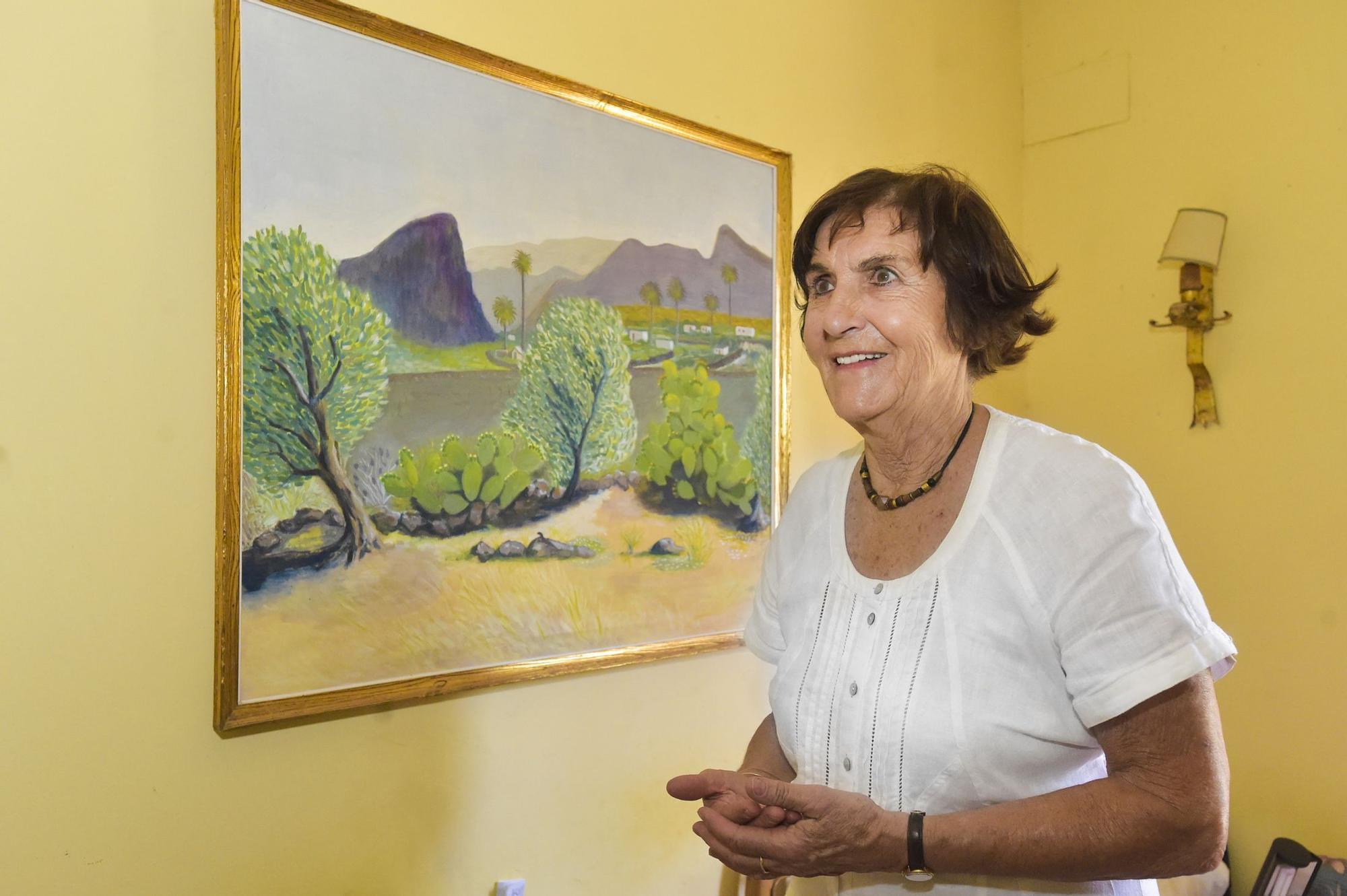 Linda Valenti, alemana que lleva 56 años en Ingenio