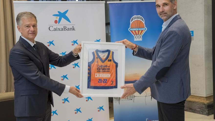 CaixaBank renueva su compromiso con el Valencia Basket