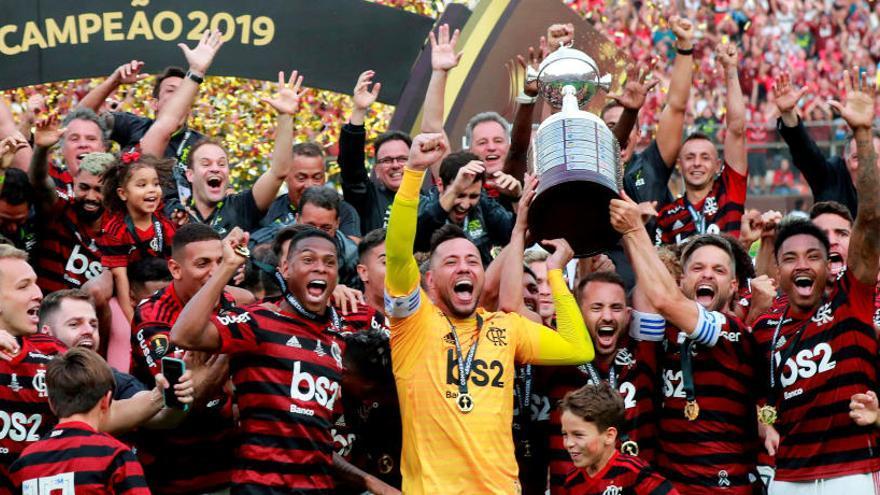 El Flamengo, campeón de la Libertadores 38 años después