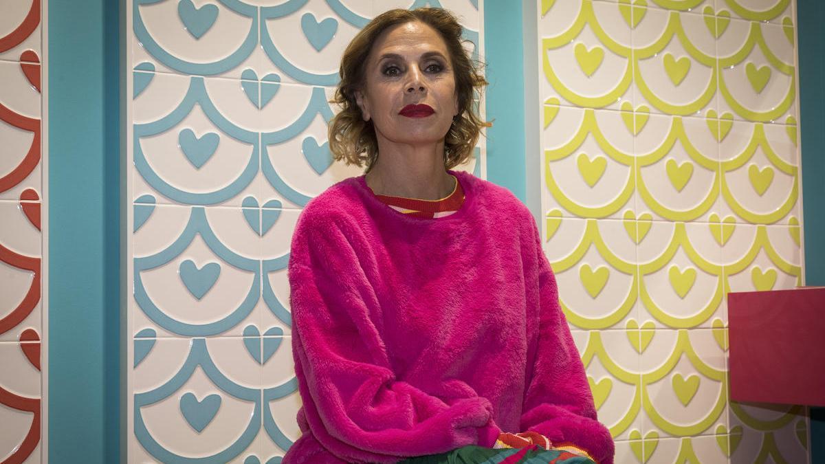 La diseñadora Ágatha Ruiz de la Prada, en una imagen de archivo