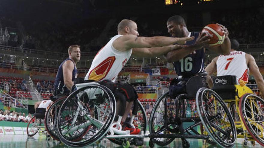 España, plata histórica en baloncesto en silla de ruedas