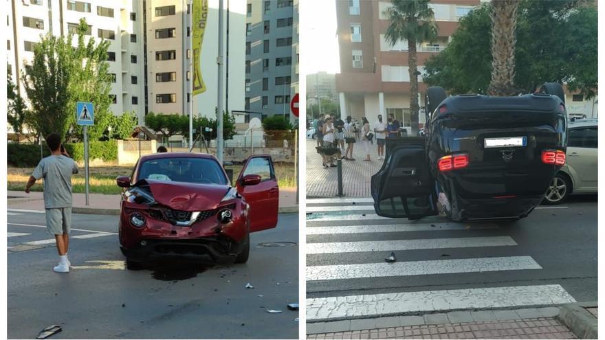 Tres heridos en un nuevo accidente en el Bulevar Blasco Ibáñez de Castelló