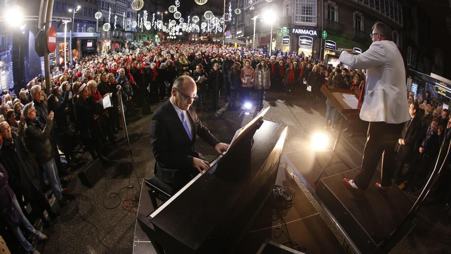 ¿A cuánto sale el día de villancicos en la Navidad en Vigo?