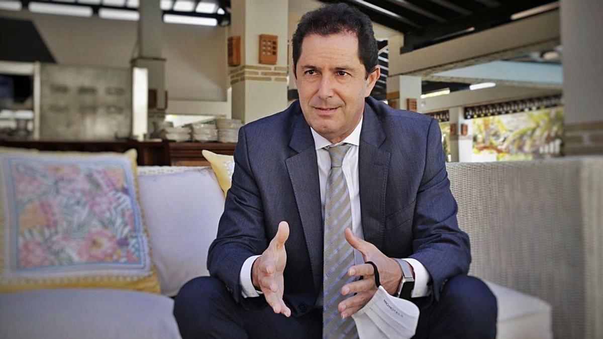 Jesús Oramas, director del hotel H10 Costa Adeje Palace.