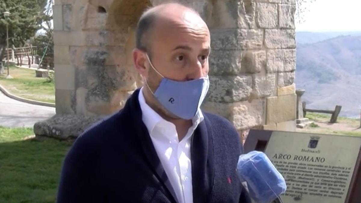 El coordinador de Ciudadanos en Soria, Rubén Morales.