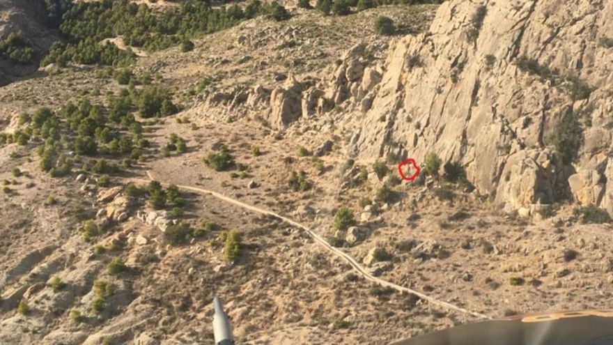Muere al caer al vacío mientras escalaba en Murcia