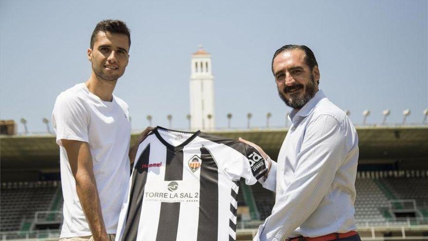 Habemus capitán | El CD Castellón renueva a David Cubillas hasta 2023