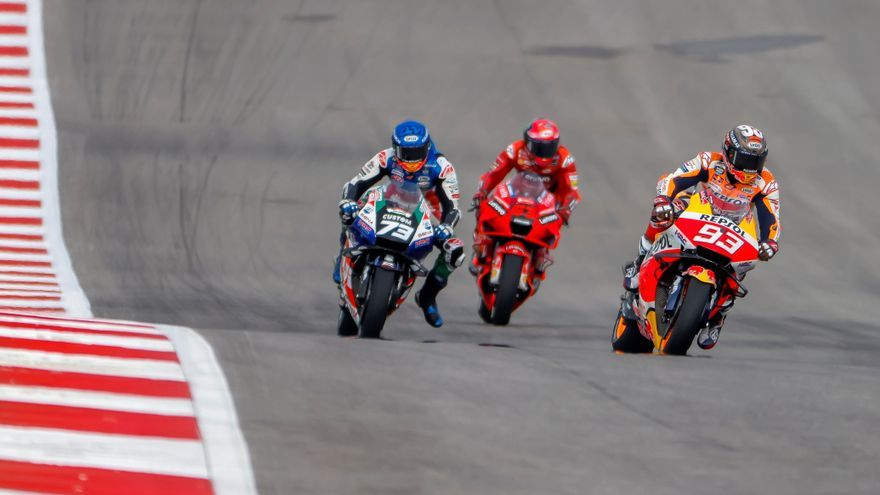 Márquez no logra la pole en su circuito talismán y saldrá tercero