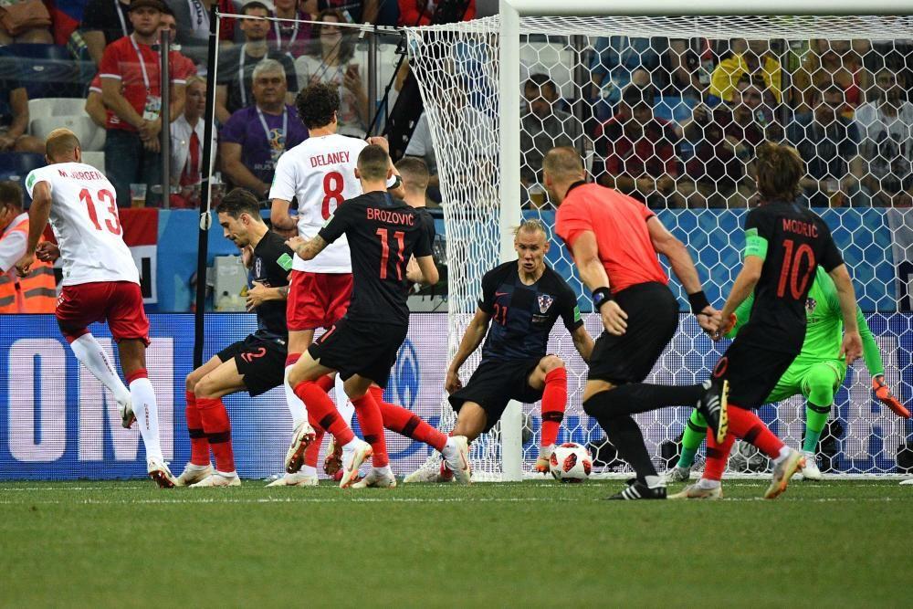 Mundial de Rusia: Croacia-Dinamarca