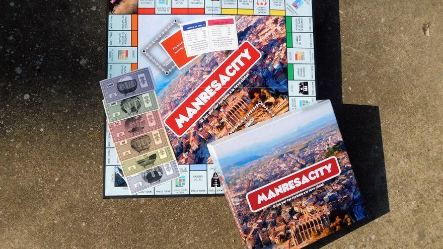 Manresacity: el joc de taula en què pots comprar els carrers de la ciutat