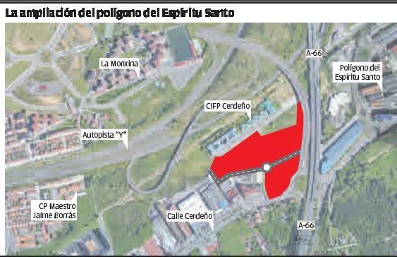 Oviedo dispondrá de nuevo suelo industrial por primera vez desde los años noventa