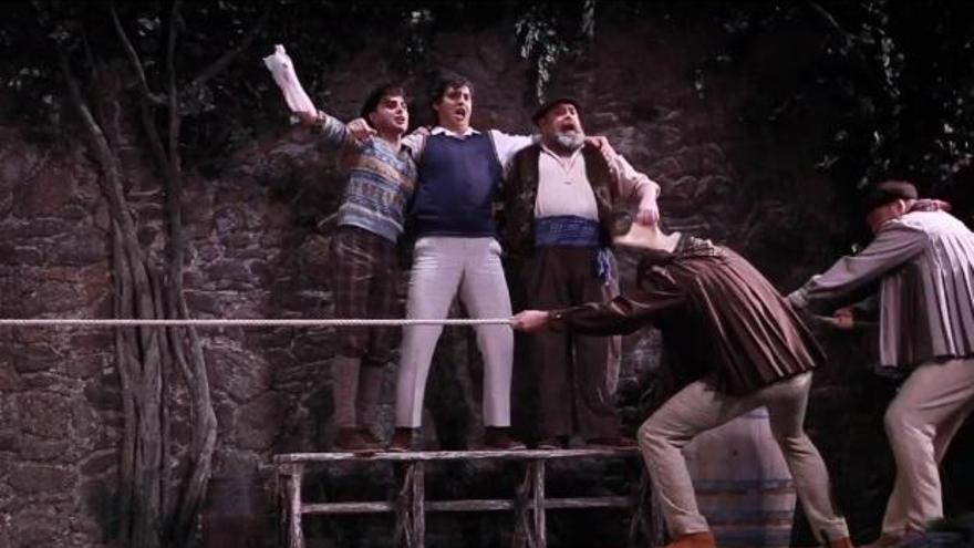 Pablo García López triunfa en el Teatro de la Zarzuela con 'El caserío', de Jesús Guridi