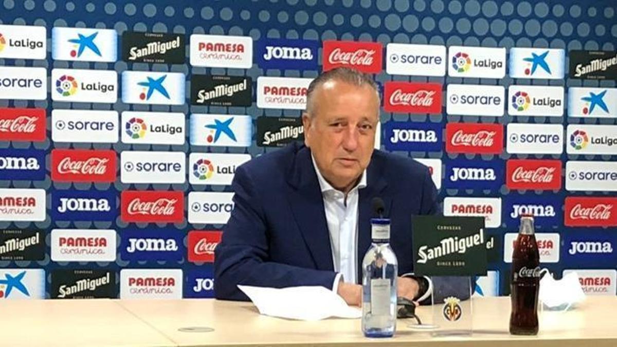 Fernando Roig, presidente del Villarreal CF