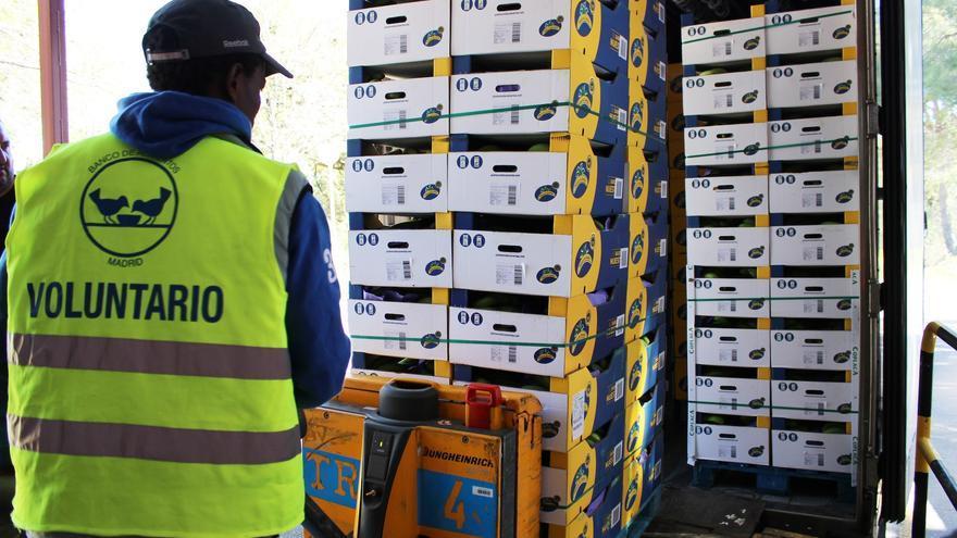 Asprocan dona 330.000 kilos de plátanos a los Bancos de Alimentos