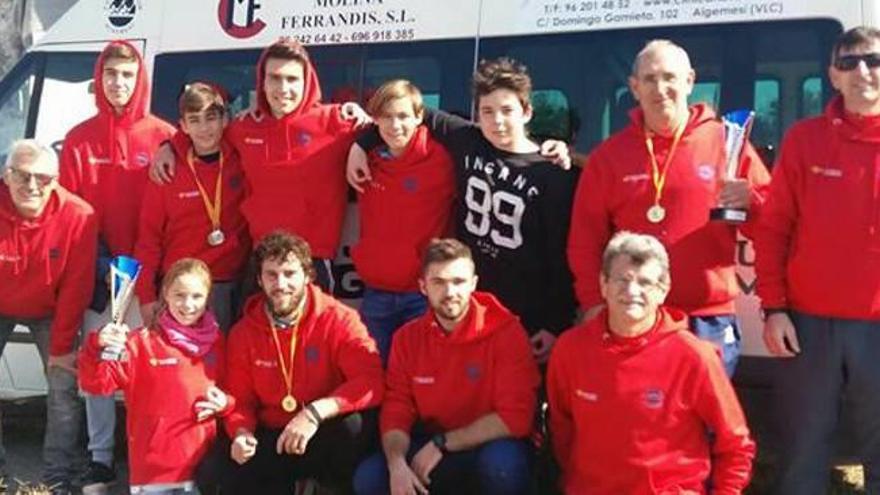 Numerosas victorias para Algemesí y Antella en Murcia