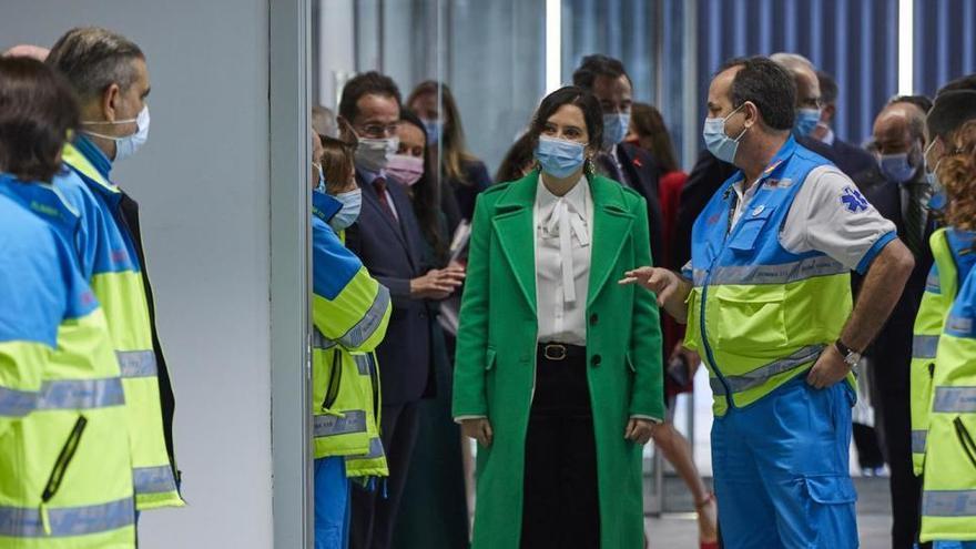 Los hospitales de Madrid tendrán que ceder 297 profesionales al Zendal