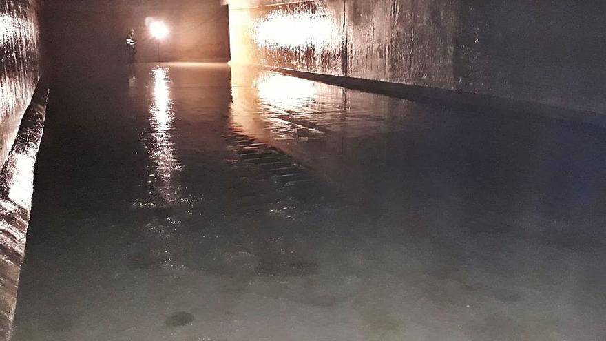 El depósito de agua subterráneo de la Mota en Benavente encara una limpieza profunda