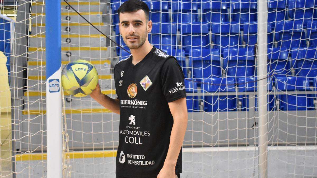 Eloy Rojas vuelve al Plama tras un año cedido en el Zaragoza.