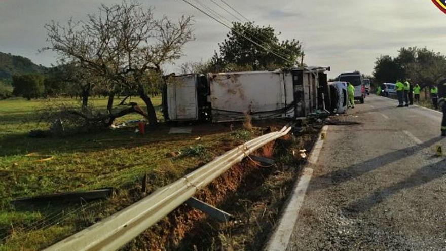 El conductor del camión de basura fallecido en Esporles se quedó dormido varias veces el día del accidente