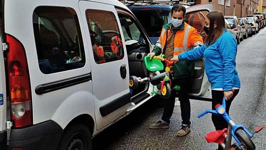 Mar de Niebla pone en marcha una juguetería para niños sin recursos