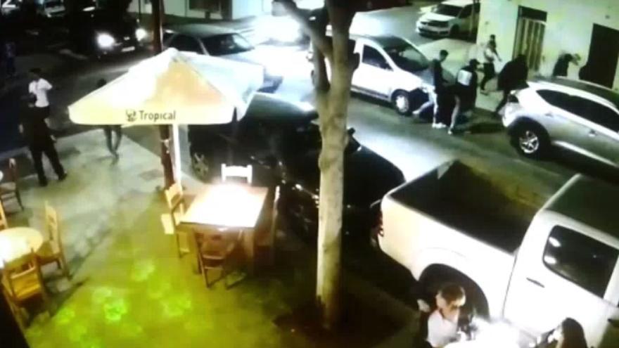 La Policía Nacional detiene a un grupo violento formado por ocho jóvenes en Puerto del Rosario