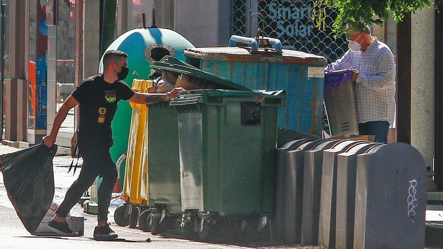 O Salnés jubila sus contenedores soterrados