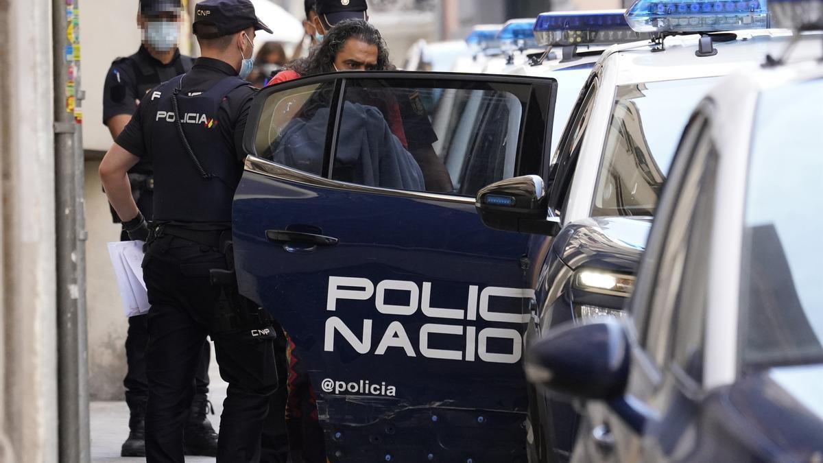 El Cigala acude a los juzgados de Violencia Machista de Madrid.
