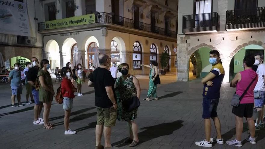Vila-real viaja al medievo con una ruta nocturna