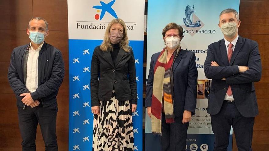 Fundación 'la Caixa' aporta 20.000 euros al proyecto solidario de reparto de alimentos de la Fundación Barceló