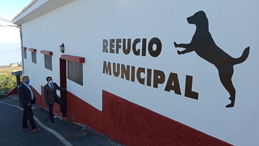Tacoronte reabre el refugio municipal de animales cinco años después