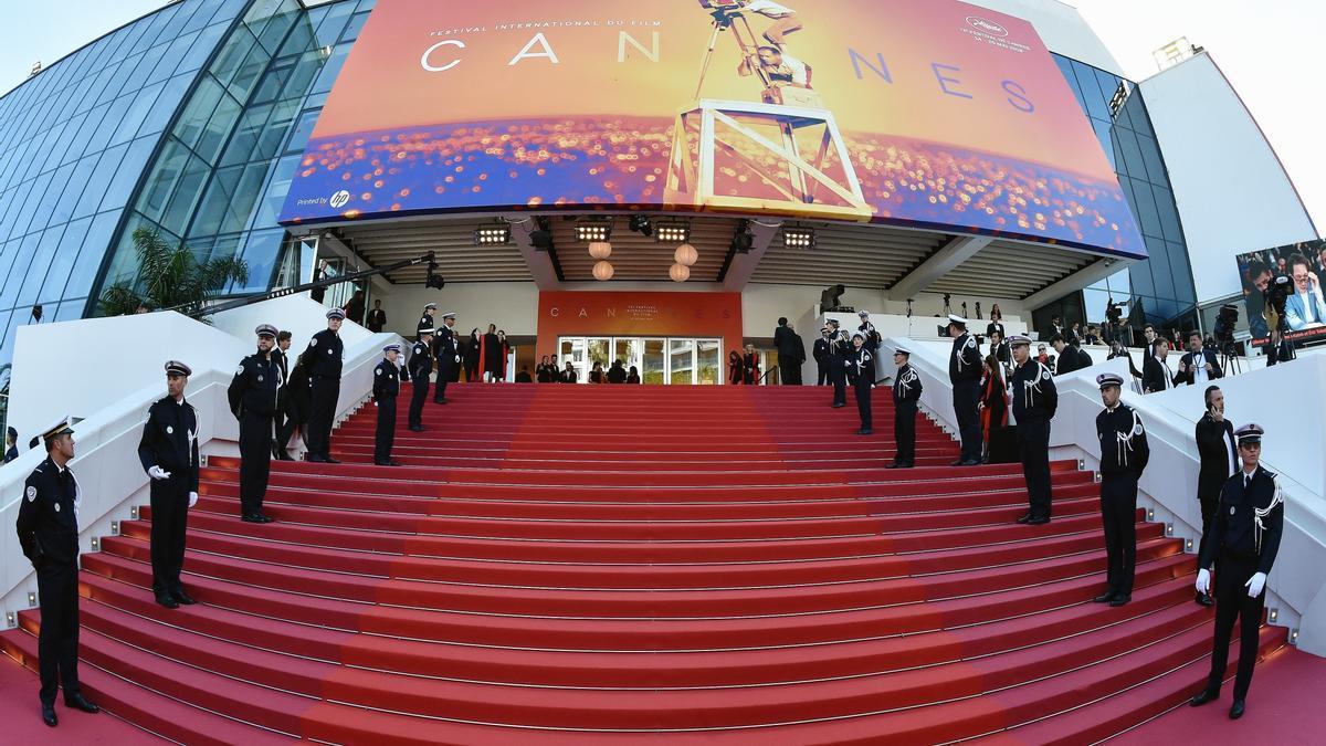 Ceremonia de clausura de la edición de 2020 del Festival de Cannes