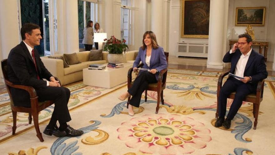 Los mejores memes de la entrevista de Pedro Sánchez como presidente