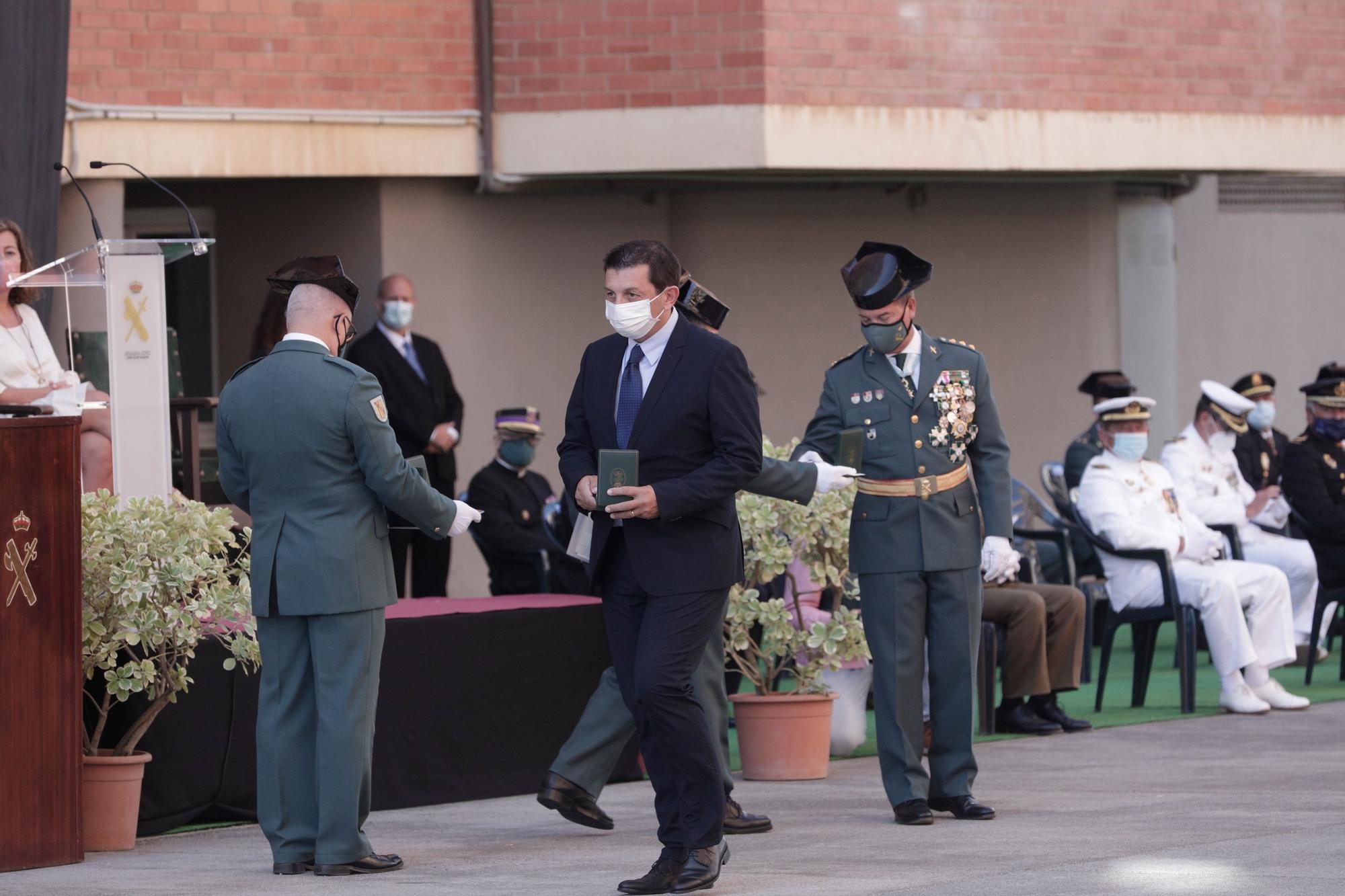 La 'torrentada' de Sant Llorenç y la covid copan la patrona de la Guardia Civil