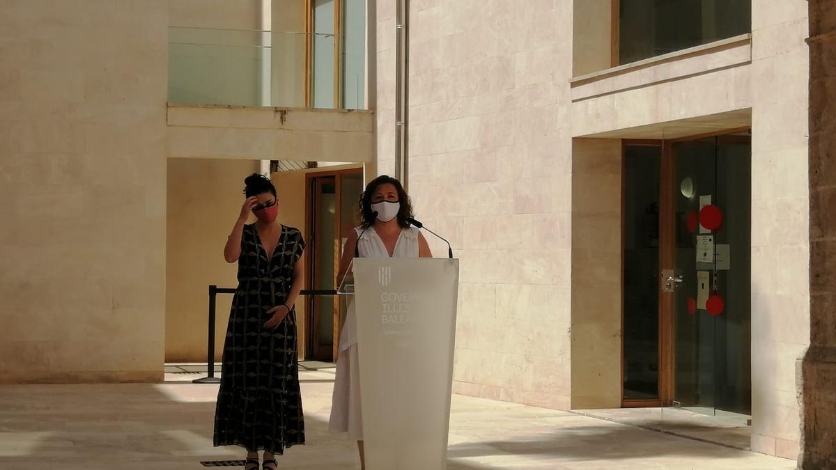 La consellera de Presidencia e Igualdad, Mercedes Garido