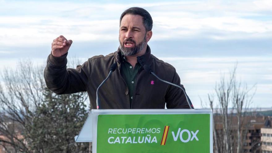 Vox pide a la Fiscalía recurrir el tercer grado concedido a los presos del 'procés'