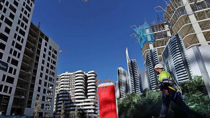 El sector inmobiliario supera la crisis de la covid casi sin impacto