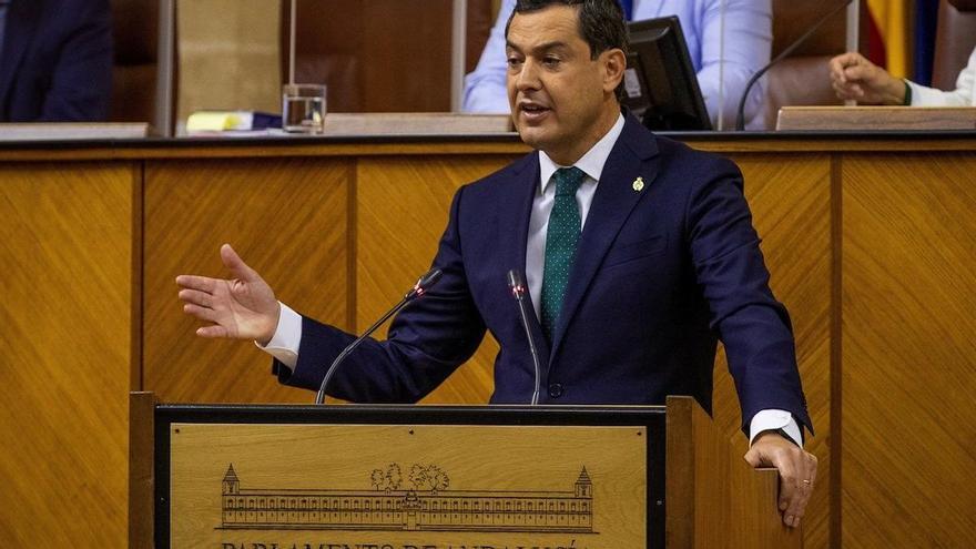 El debate sobre el estado de la comunidad será el 27 de octubre en el Parlamento de Andalucía