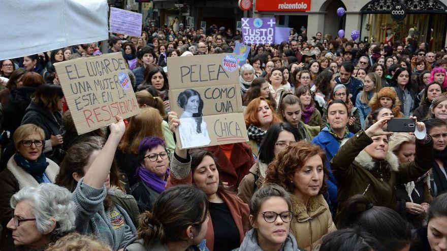 Dos marchas culminarán en A Ferrería el 8 de Marzo por el Día de la Mujer Trabajadora