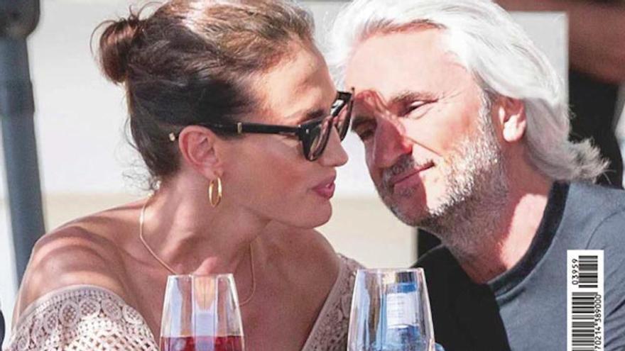 Nieves Álvarez, amor al calor de las calas en Ibiza